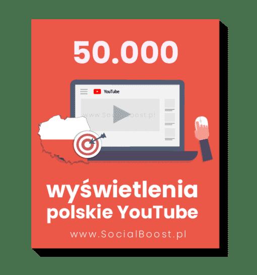 50.000 polskich wyświetleń youtube