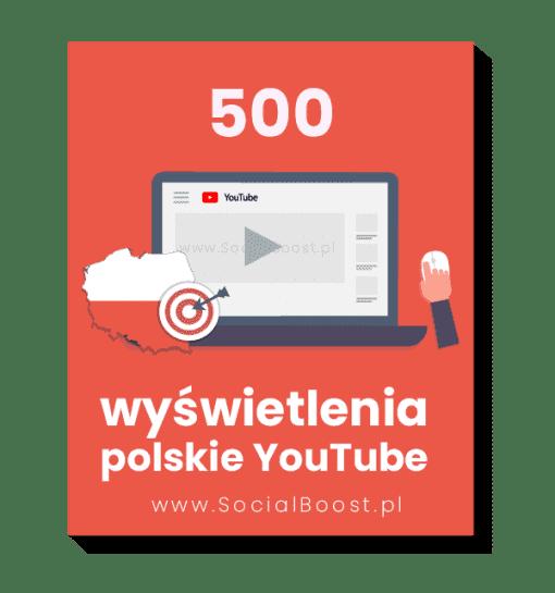 polskie wyświetlenia youtube 500