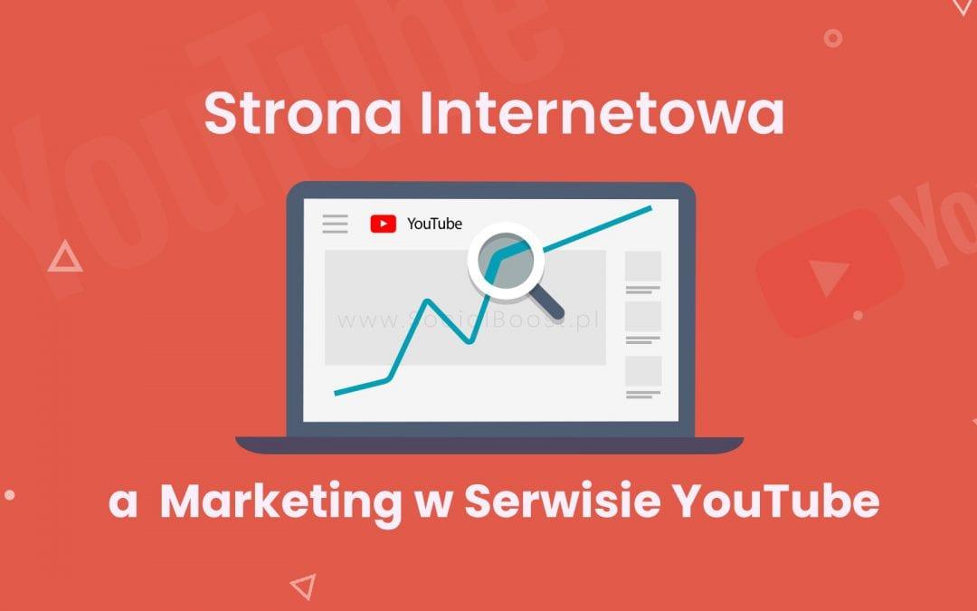 Budowanie Strategii w Serwisie YouTube – 1. Stwórz stronę internetową!